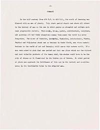 Cardegna, Felix F. -- An era of art and learning