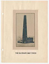 Matthews, Kenneth F. -- The Baltimore shot tower