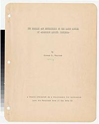 Wharton, Thomas P. -- The history and development of the water supply of Arlington County, Virginia